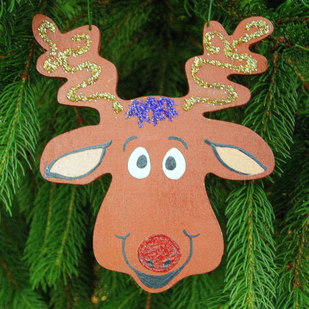 Get ready for all of Santa's Reindeer- these are easy to paint wood cutouts!  READ MORE