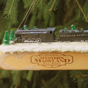 Polar Express Train Whistle Christmas ornament