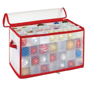 Christmas Storage Ornament Organizer