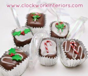 Clay Bonbons Christmas Ornaments