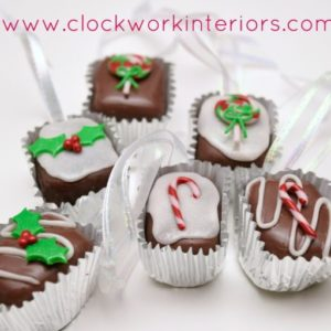 Clay Bonbons Christmas Ornaments