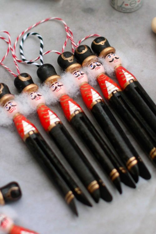 Attention!  Beautiful Nutcracker Christmas ornaments for a fun DIY craft  READ MORE