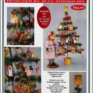 Vintage Christmas ornament KIT by Jean Nordquist