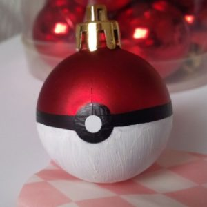 Pokémon Christmas ornaments