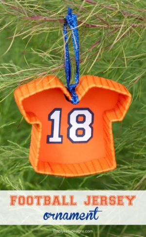 Sports Jersey Christmas ornament