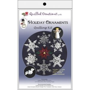 Snowflake Quilling Christmas ornament KIT