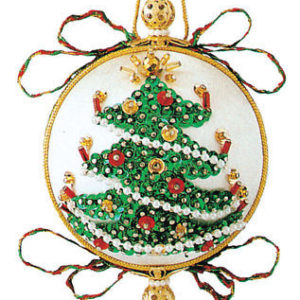Tannanbaum (Sequin Christmas tree) ornament