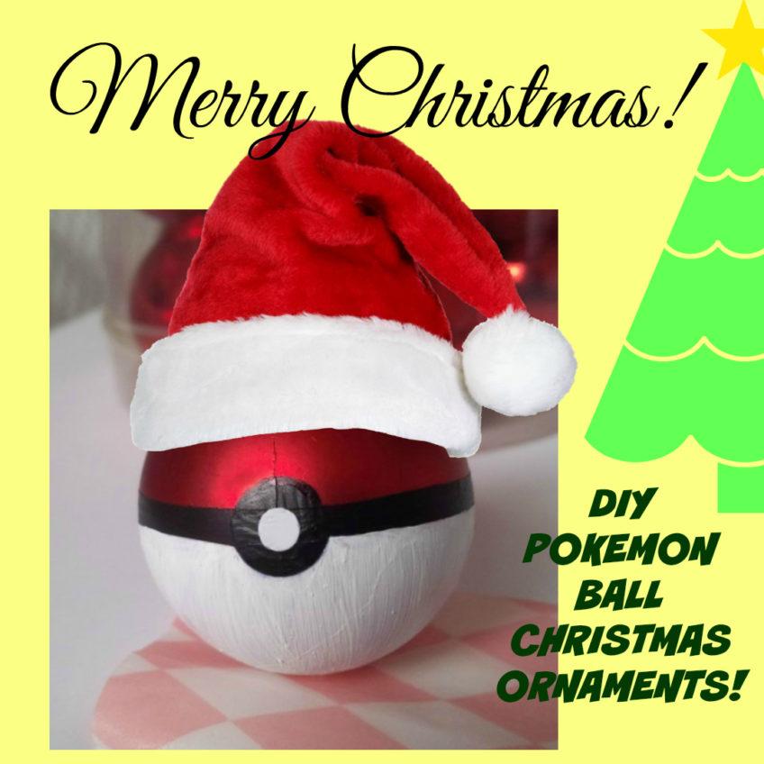 Pokemon Christmas Ornaments.Pokemon Christmas Tree Decoration Archives Homemade