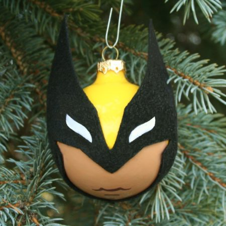 Wolverine's Back!  And you can make the easy felt on glass ornament ... READ MORE