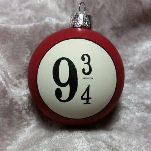Harry Potter Platform 9 3/4 Christmas ornament