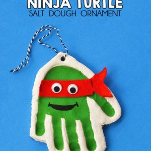 Teenage Mutant Ninja Turtle KID'S FUN handmade Christmas ornaments