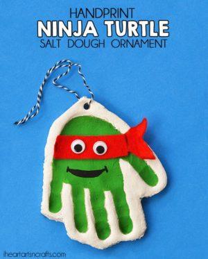 Teenage Mutant Ninja Turtle KID'S FUN handmade Christmas ornaments