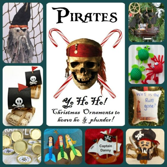 Yo Ho Ho Ho! Blimey Christmas decorations for Pirates and Seadogs [photos]