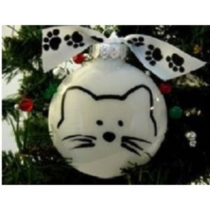 Purrfect Cats Christmas ornament