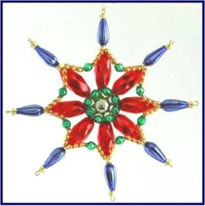 Czech beaded Christmas ornament KITS